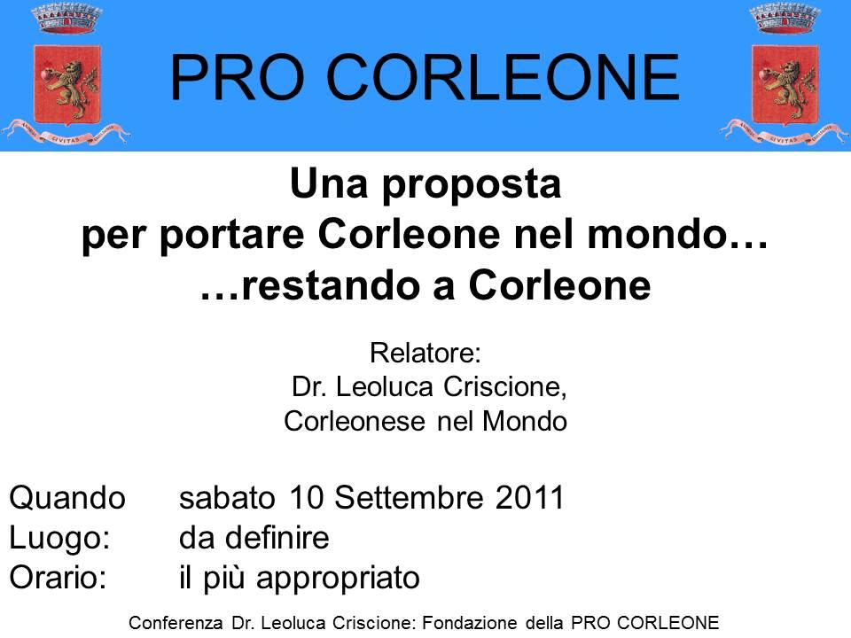 Pro Corleone