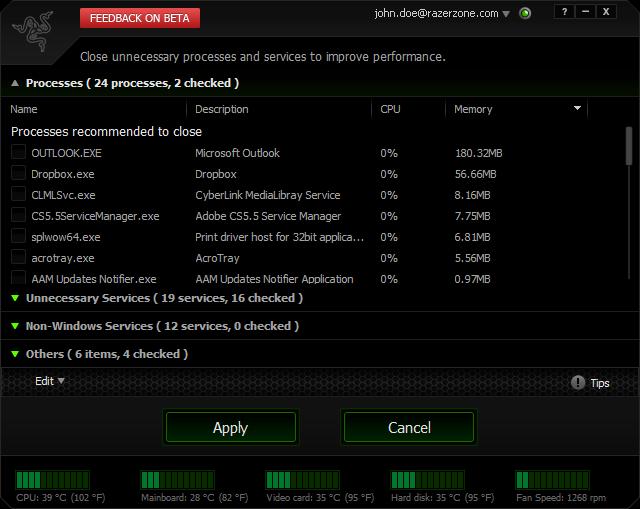 Download Razer Game Booster 4.2.45.0 Terbaru 2014
