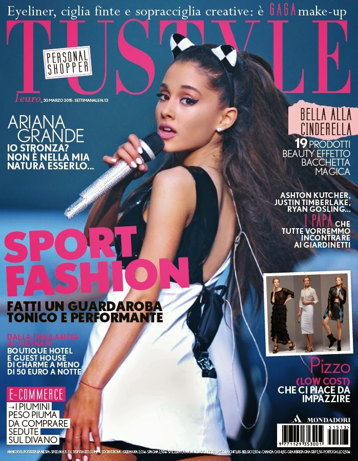 Singer, Actress @ Ariana Grande - Tu Style, Italy, March 2015