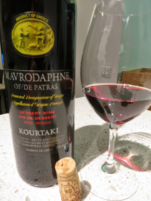 Kourtaki Mavrodaphne of Patras from PDO, Peloponnese, Greece (86 pts)