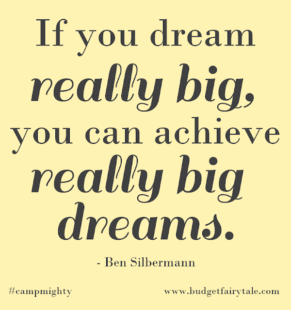 """If you dream really big, you can achieve really big dreams."" - Ben Silbermann"
