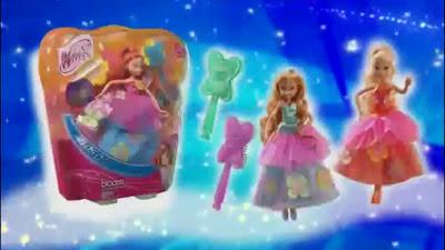 Naujos lėlės/žaislai/mokyklinės prakės Rugsėjis/Lapkritis Winx+ClubFlower+Princess+Dolls!+Promo!+551