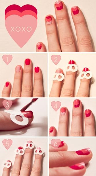 heart nails