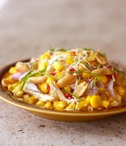 healthy thai salad recipe with corn