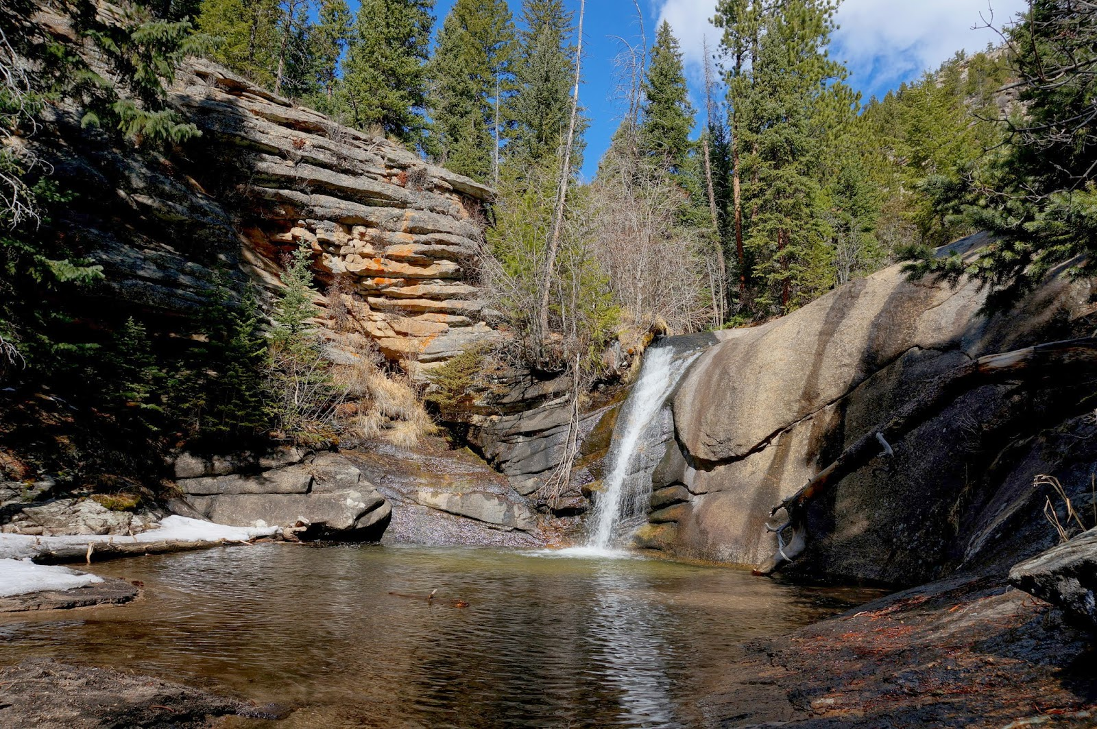 Go Hike Colorado West Creek Falls Rocky Mountain