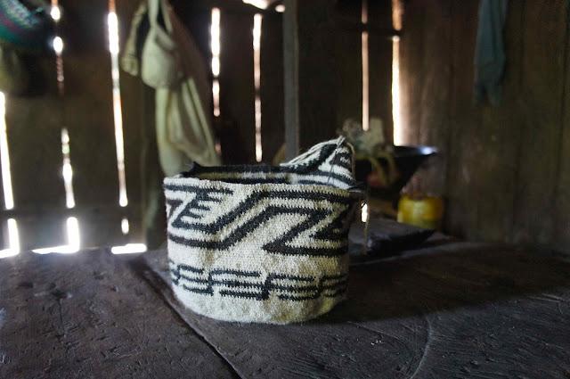 Mochila arhuaca Colombia de una