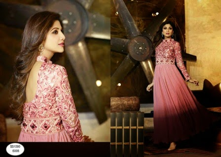 2015 anarkali summer collection for girls