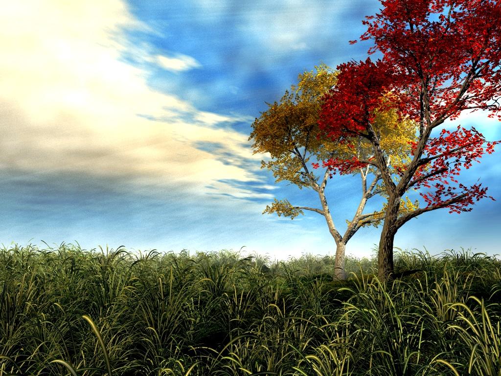 3d wallpaper trees-#4