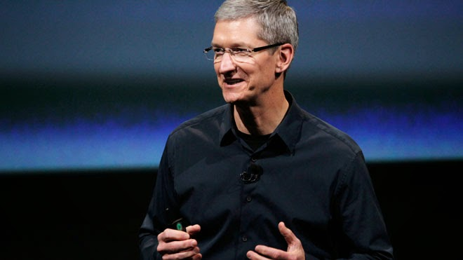 have Lunch With Tim Cook