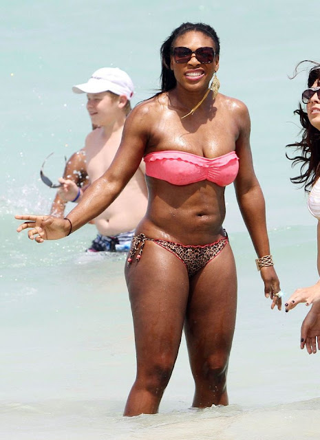 Serena Williams In Bikini