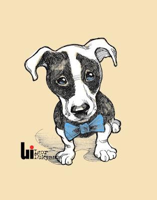 dessin petit chien mignon