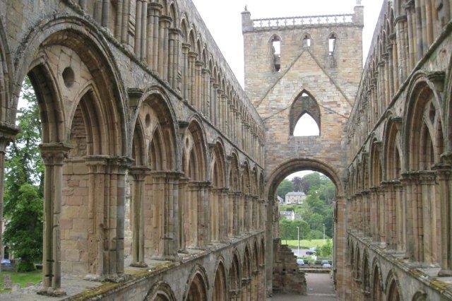 Abadia de Jedburgh, Borders escoceses