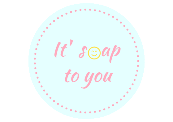 It' soap to you
