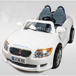 Xe ô tô điện cho bé 2 chỗ ngồi, 2 động cơ B15