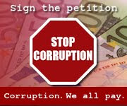 STOP CORRUPTION - Petitia Anticoruptie a UE