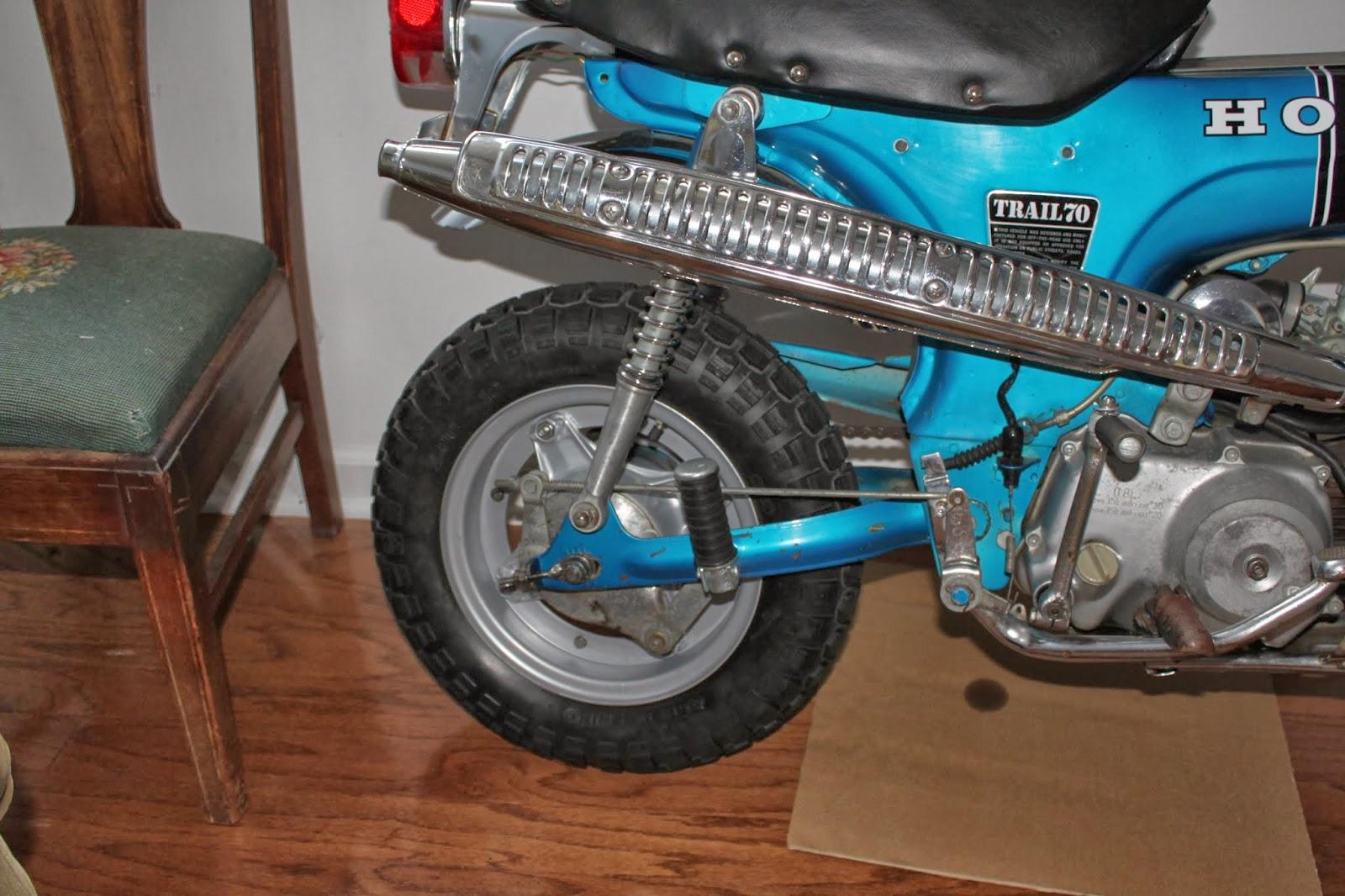 1970 Honda Ct70 Trail Bike 2000 Ann Arbor Grooshs Garage Blue