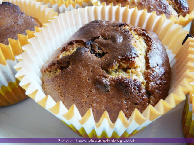 Pumpkin, Raisin & Pecan Muffins | The Purple Pumpkin Blog