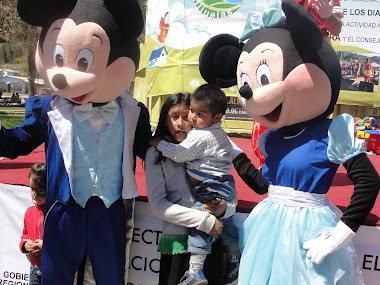 VISITAS DE MINNIE Y MICKEY A TU EVENTO