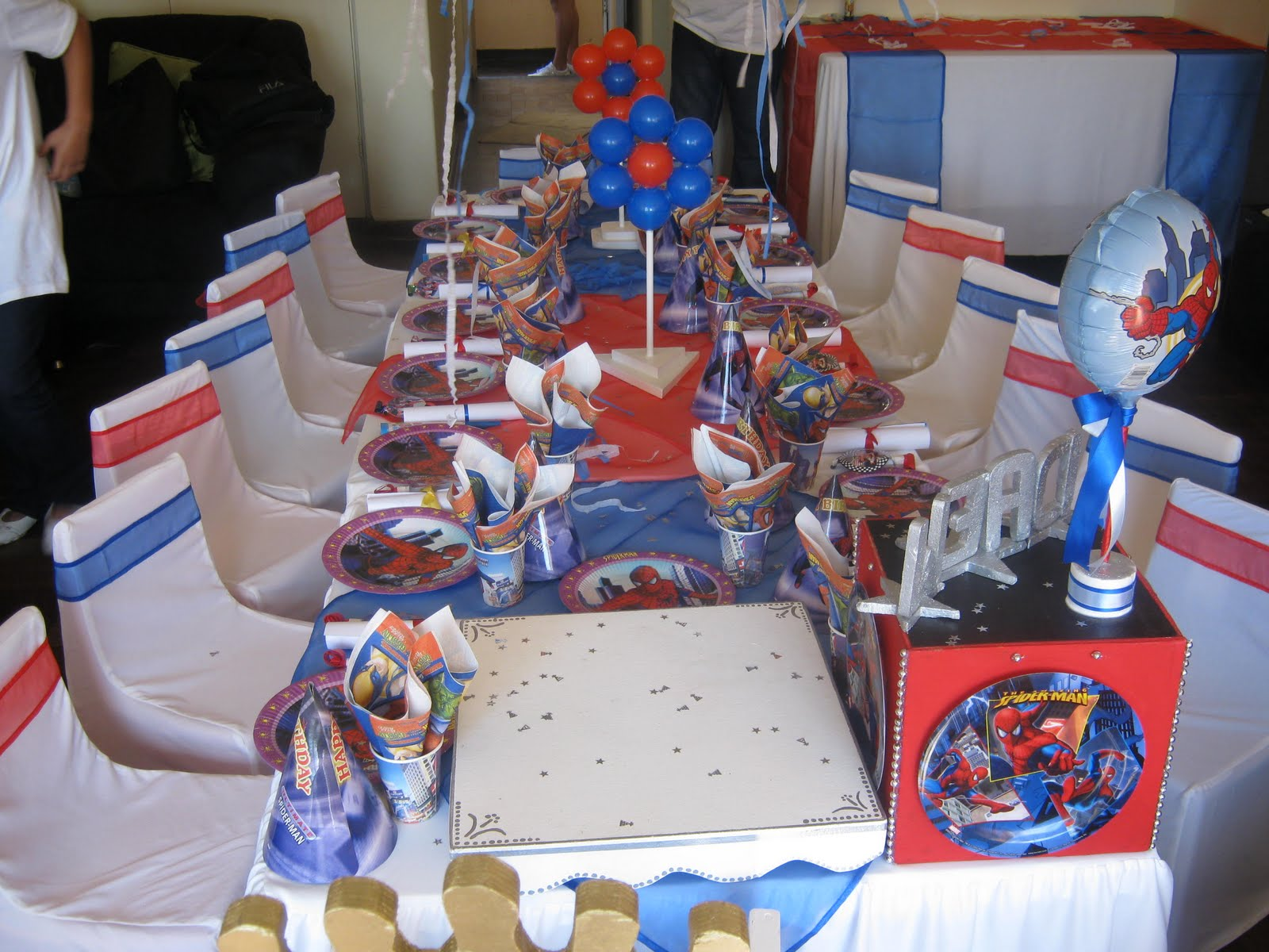 Magnificent Spider-Man Birthday Party Ideas 1600 x 1200 · 255 kB · jpeg