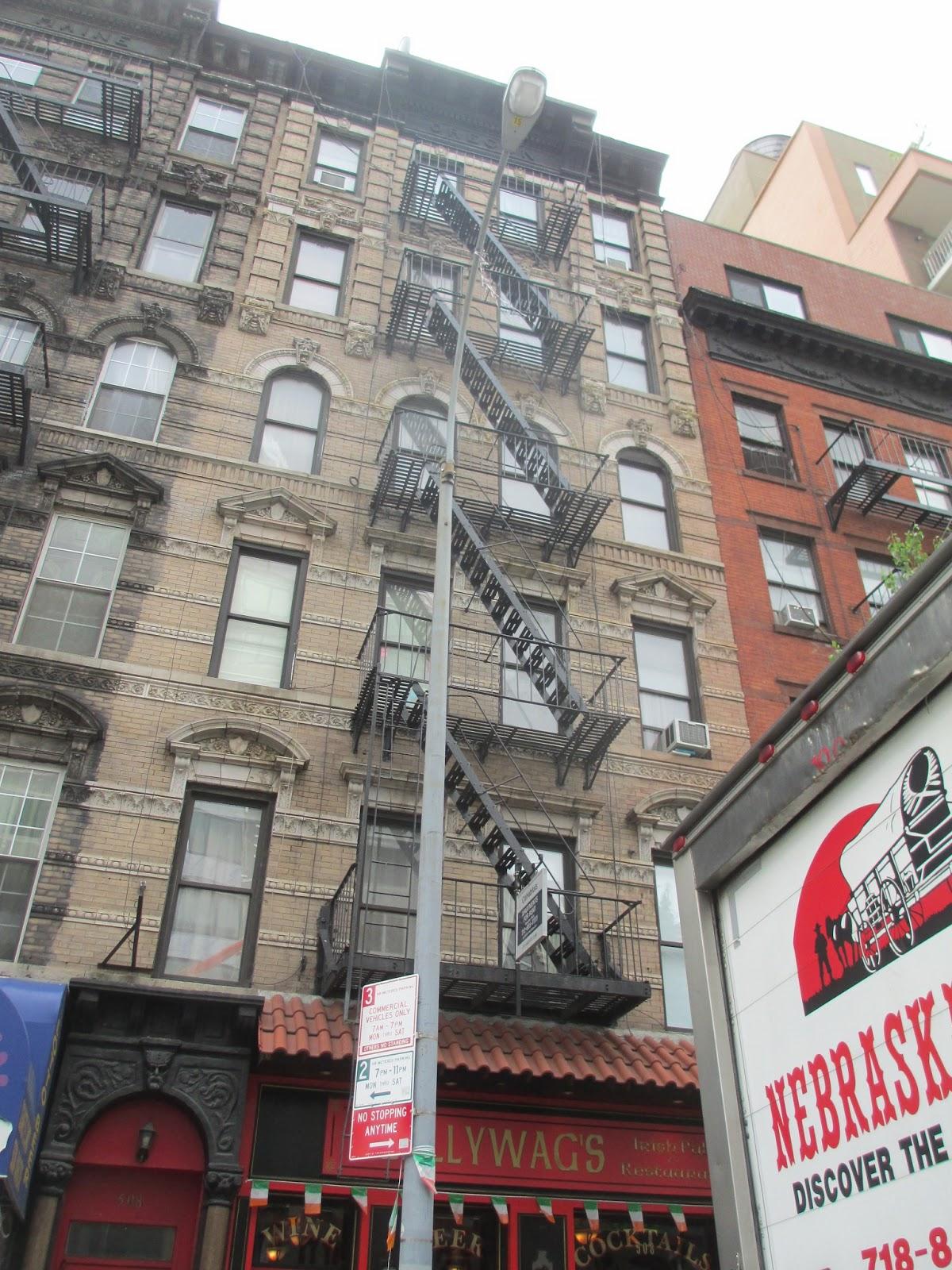 Fire Escape Scrape Amp Painting Queens New York 917 254 0960
