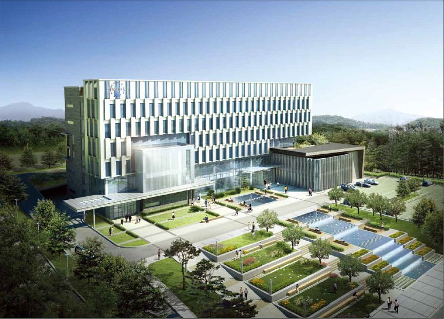 Design Building Of District Court In Jinju Branch Changwon