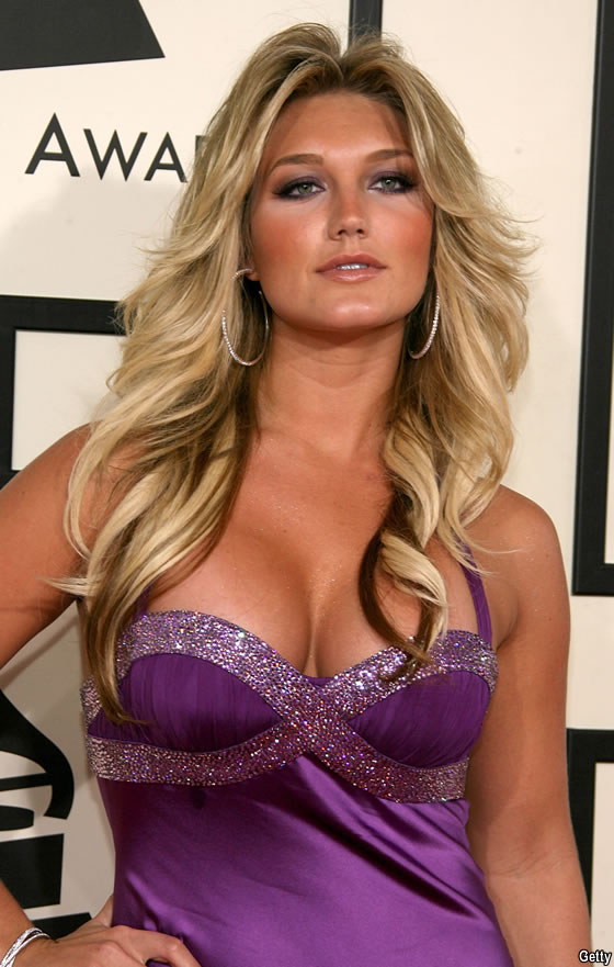 BROOKE HOGAN(the daughter of the wrestling superstar Hulk HOGAN