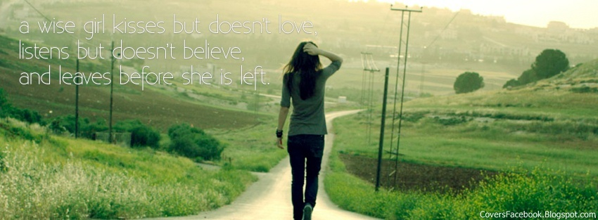Girl Quotes Facebook Timeline Covers