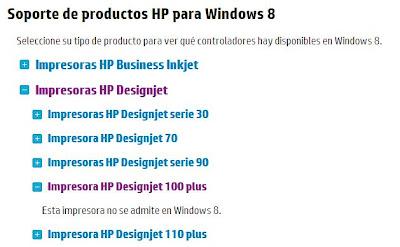 Несовместимость принтера с Windows 8