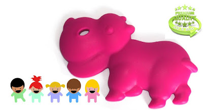 Silicone Hippo Teethers For Teething Relief  #hippoteethers
