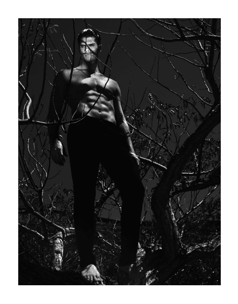Brian Shimansky by Chuando & Frey for L'Officiel Hommes Singapore