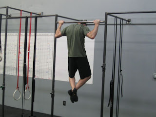 Pull Ups Behind The Neck