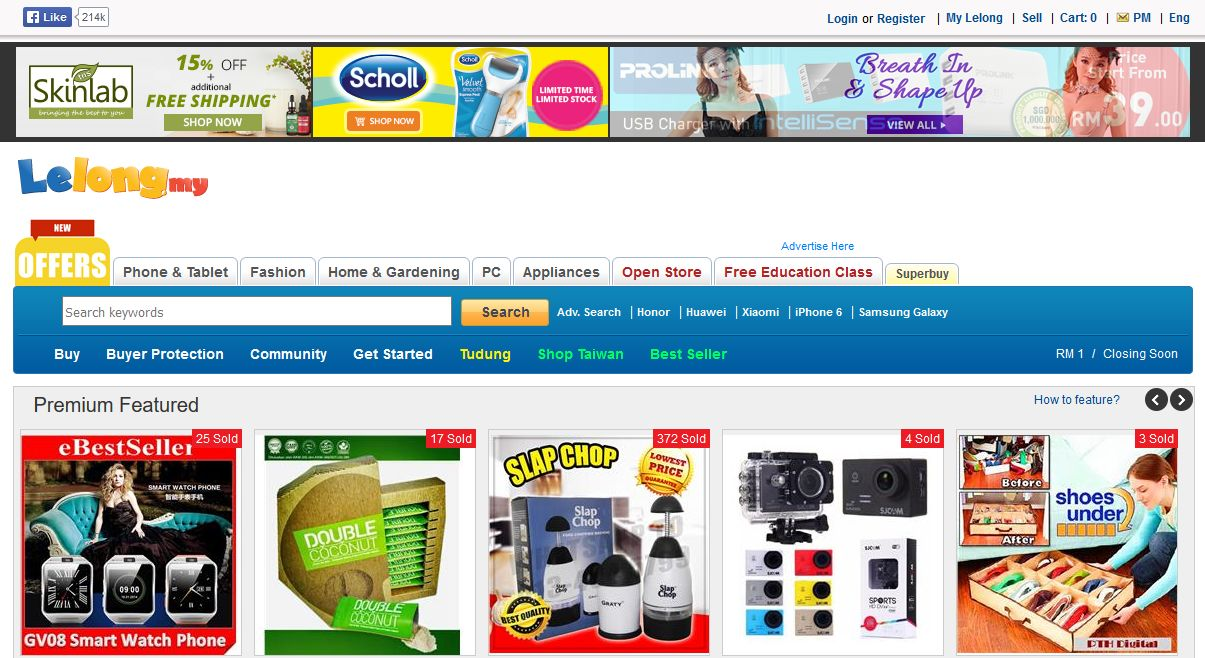 Top 10 online shopping sites in malaysia ecinsider for What are some online shopping sites