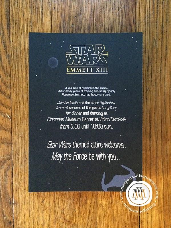 MargotMadison: Star Wars Themed Bar Mitzvah