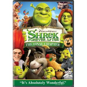 Shrek Forever After DVD cover
