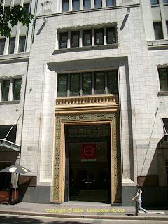 York Street entrance