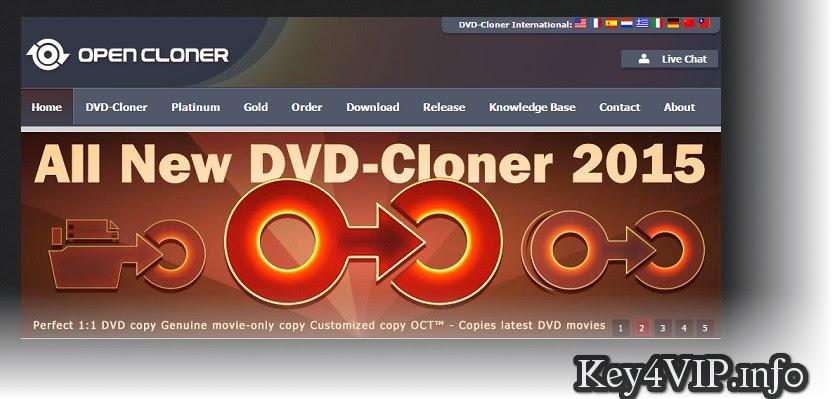 DVD-Cloner 2015+ Gold + Platinum 12.30 Build 1403 Multilingual,Phần mềm sao chép và tạo đĩa DVD và Blu-ray