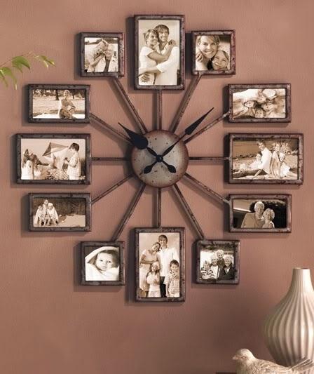 Llega la hora de decorar con un reloj de pared