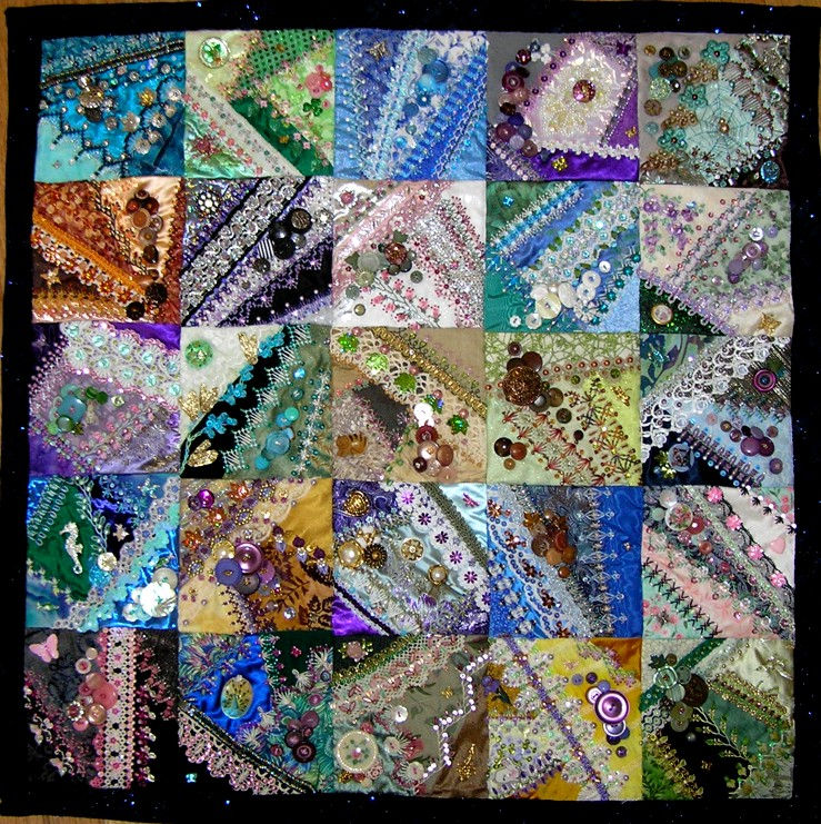 Crazy Quilt Pattern Images : Crazy Quilt Embroidery - Free Embroidery Patterns