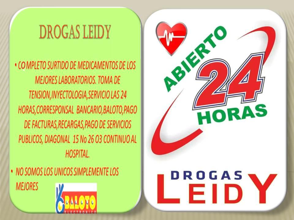 DROGAS LEIDY