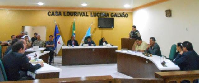 Vereadores de Panela (PE) discutem a segurança pública para o município