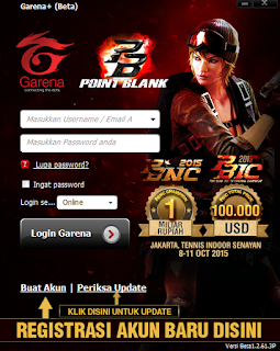 Login Messenger Plus PB Garena Indonesia