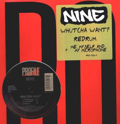 Nine – Whutcha Want? (VLS) (1994) (320 kbps)