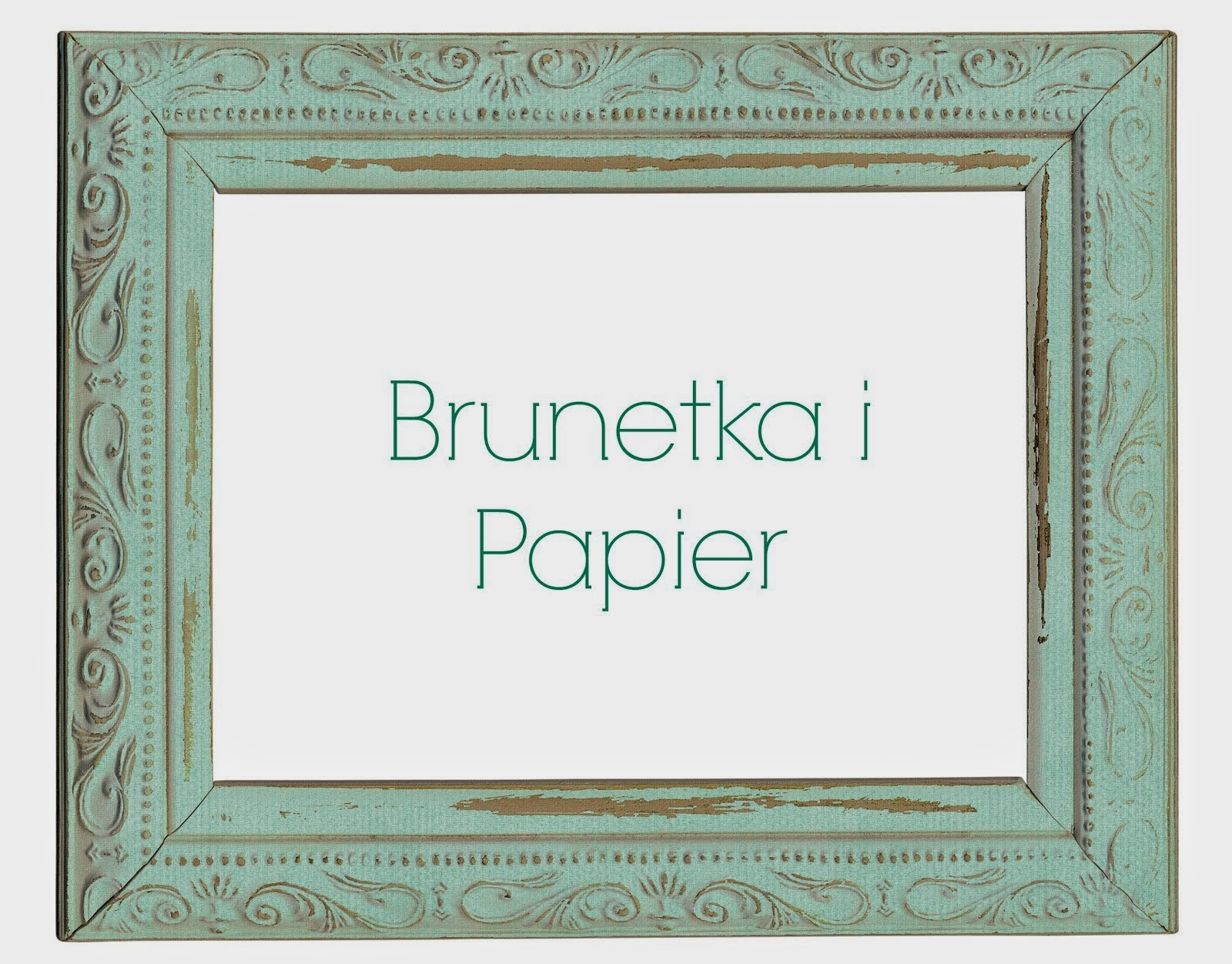 ------- Brunetka i papier -------