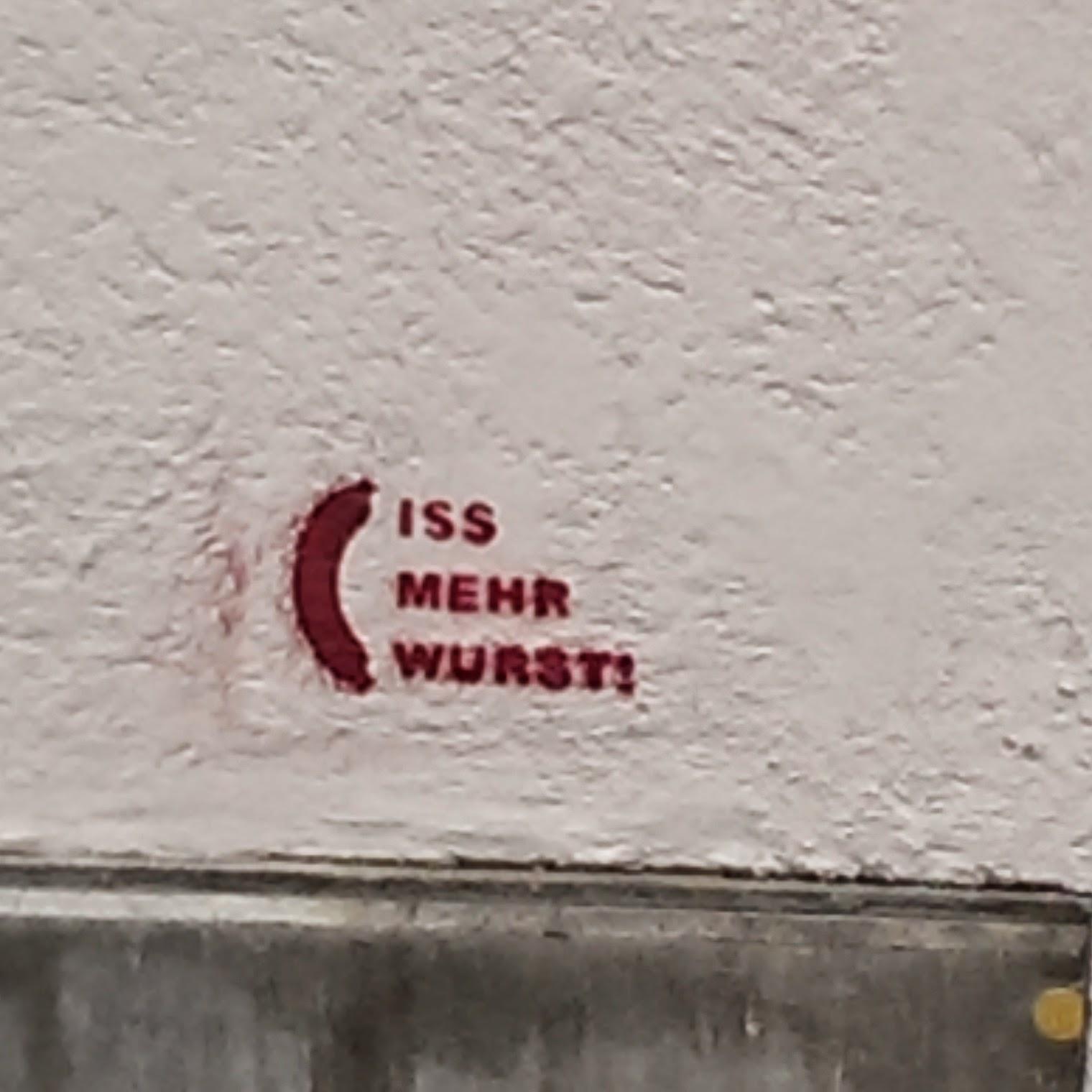 Graffiti, Stencil, München