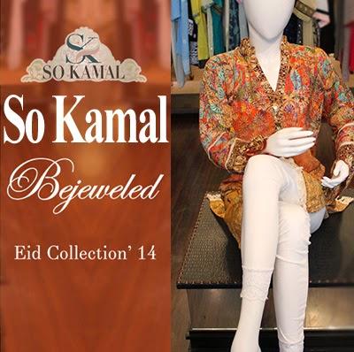 So Kamal Eid Collection 2014 | New Eid Dress Designs for Women