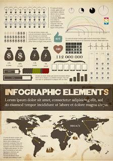 ビジネス インフォグラフィックス テンプレート business infographics elements イラスト素材