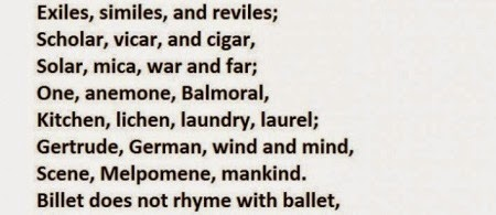 Can You Pronounce This Whole Poem? Apparently, 9 Out Of 10 People Can Not!