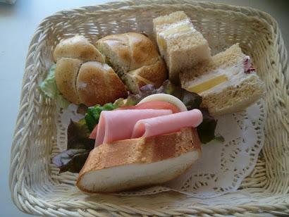 サンドイッチ ランチ