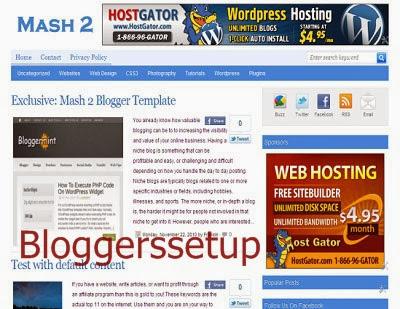 Mash 2 Blogger  2014