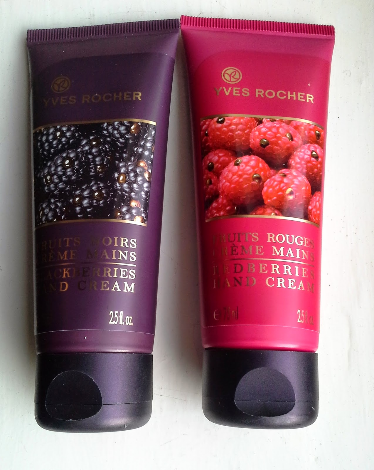 yves rocher redberries blackberries le hand cream review loevens makeup rambles. Black Bedroom Furniture Sets. Home Design Ideas